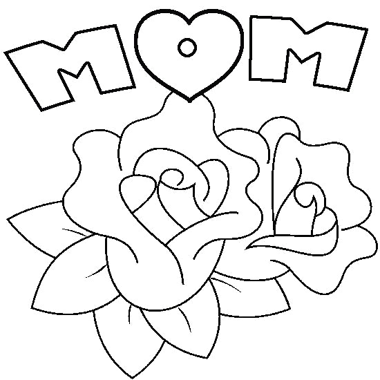 550x550 Mothers Day Drawing Mothers Day Flowers Ikli In Brilliant Drawings