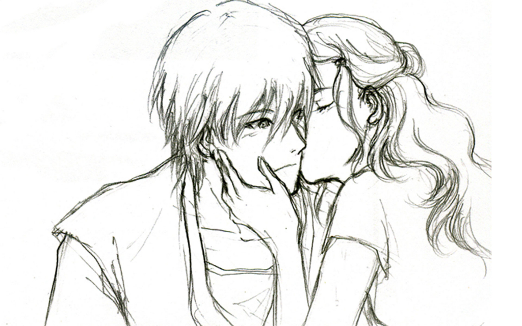 1024x640 Cute Love Drawings For Your Boyfriend Cute Love Drawings Pencil