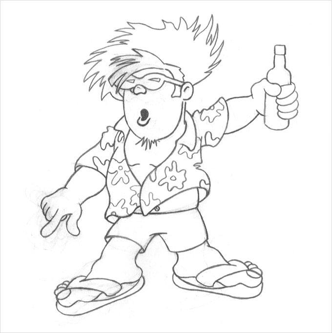 680x682 Cartoon Drawings
