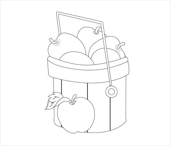 585x500 Simple Drawings Template