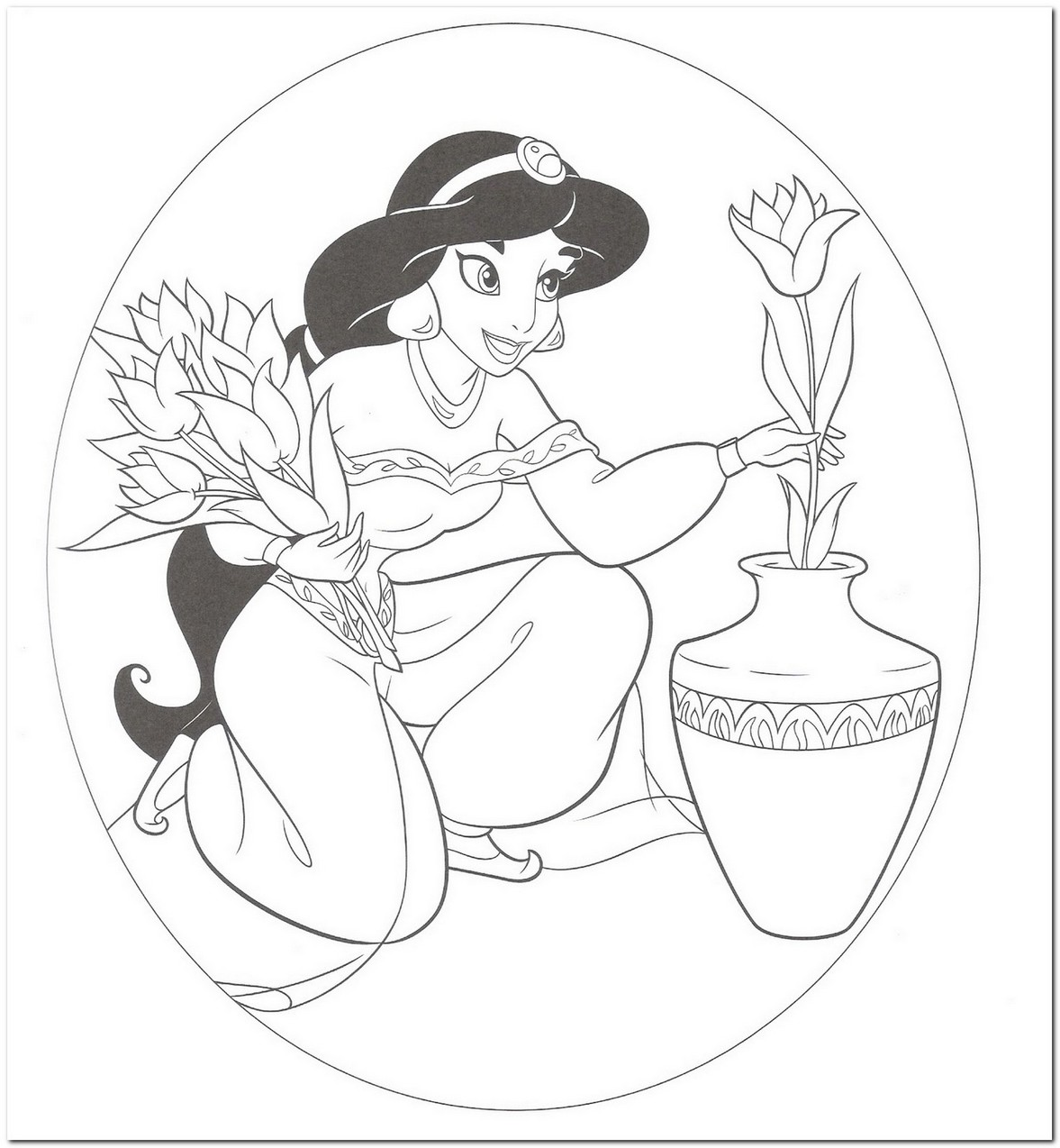 1177x1274 Coloring Page Disney Princess Download Drawing Board Weekly