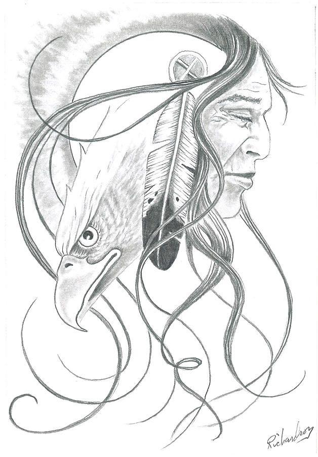 628x900 Native American Dream Catcher Drawings Native American Pencil