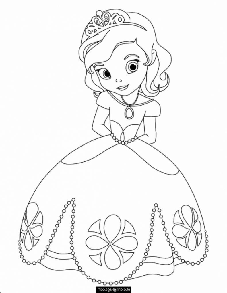 791x1024 Princess Drawing