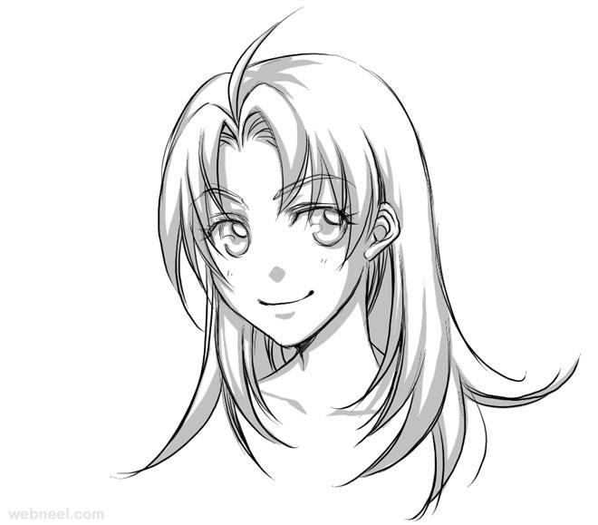 660x579 Anime Drawings 14