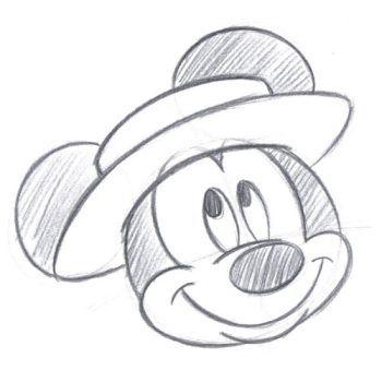350x350 Disney Character Drawings