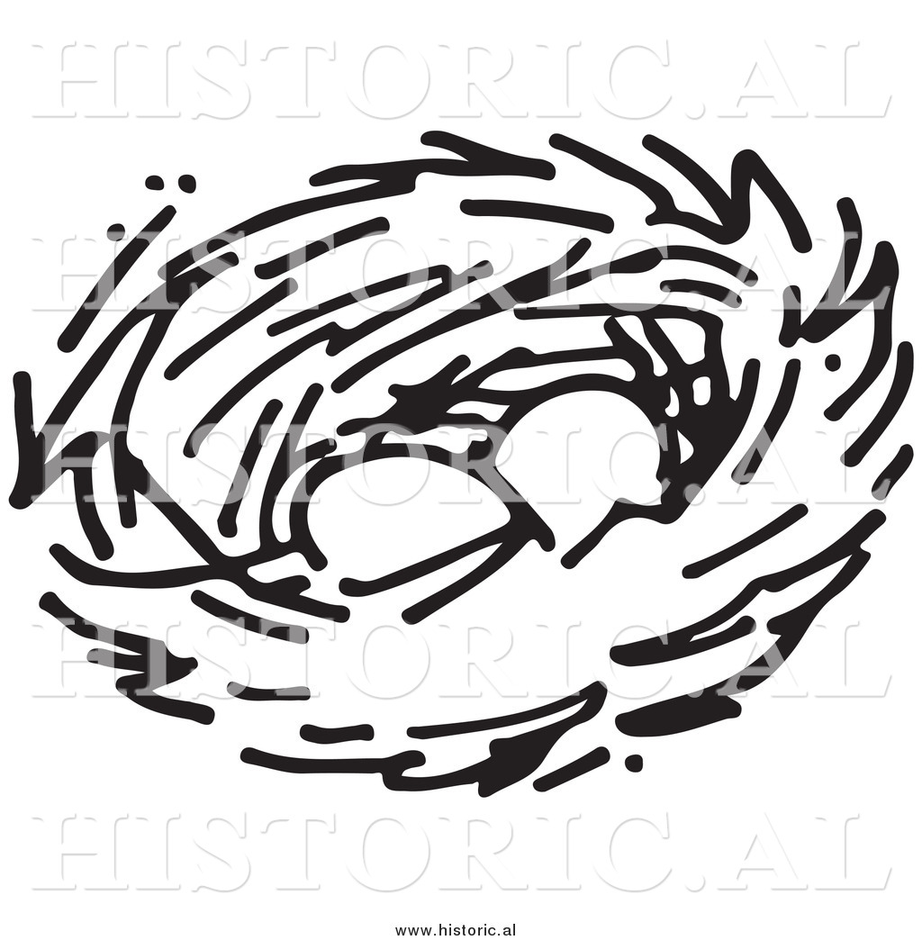 1024x1044 Clipart Of Two Eggs In A Bird Nest