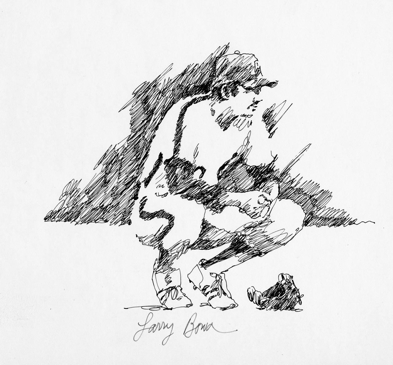 1280x1189 Baseball In Black And White Dick Perez