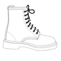 236x236 How To Draw Converse, How To Draw Chuck Taylors Step 6