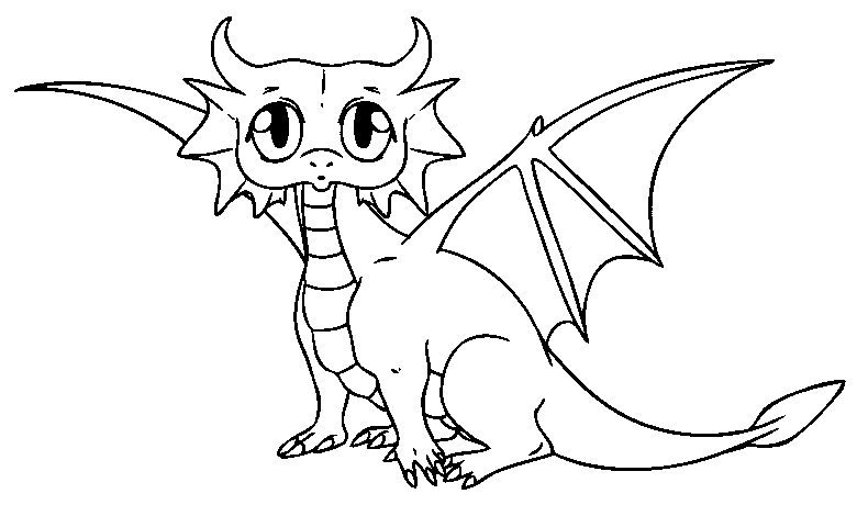 780x460 Gallery Line Drawings Of Dragons,