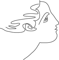 236x240 Picasso Drawing 05d Face Amp Dove Picasso, Drawings