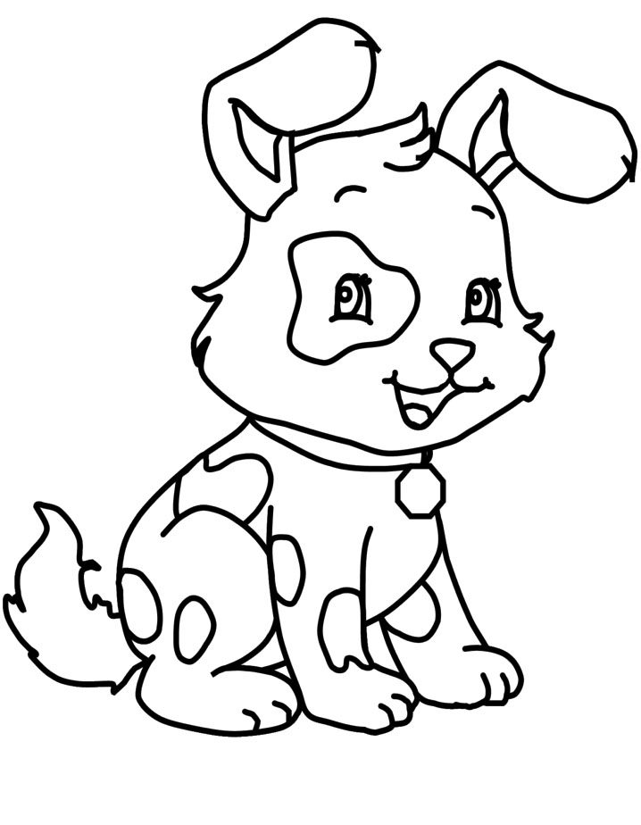 718x924 little kid coloring pages
