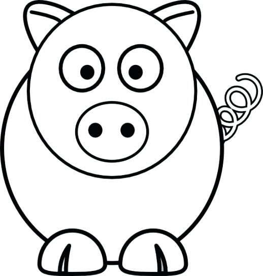 518x544 Coloring Pages Animal Cartoon Coloring Sheet Animal Coloring Pages