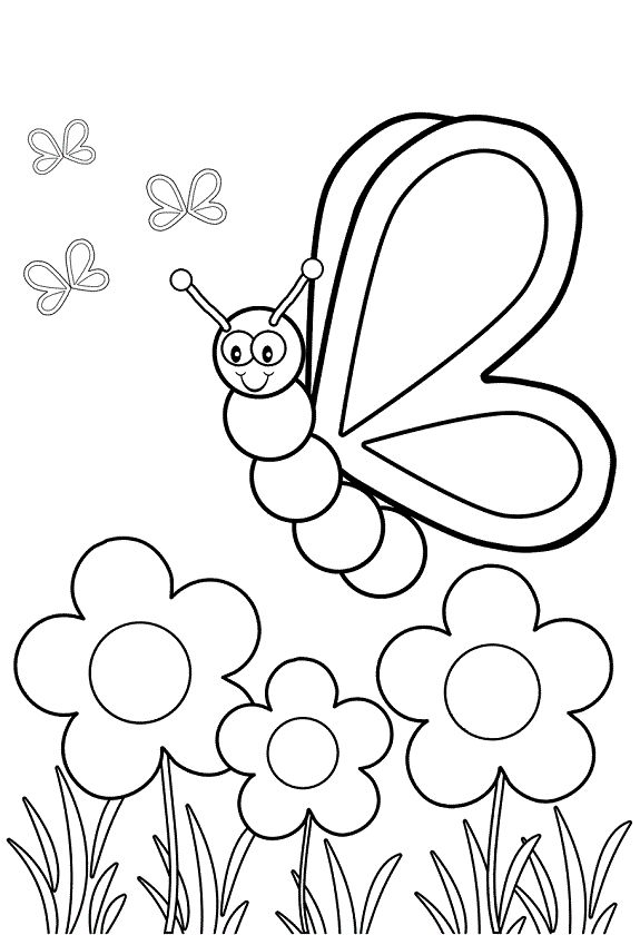 575x840 Top 17 Free Printable Bug Coloring Pages Online Insects