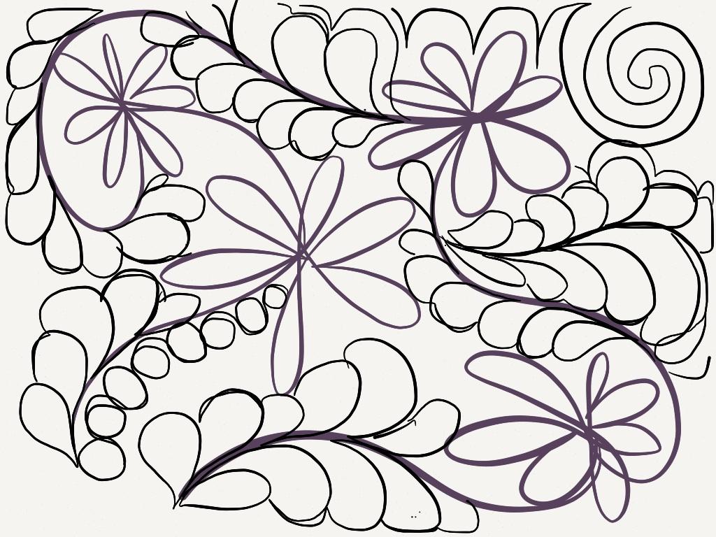 1024x768 Draw Cool Designs Paper