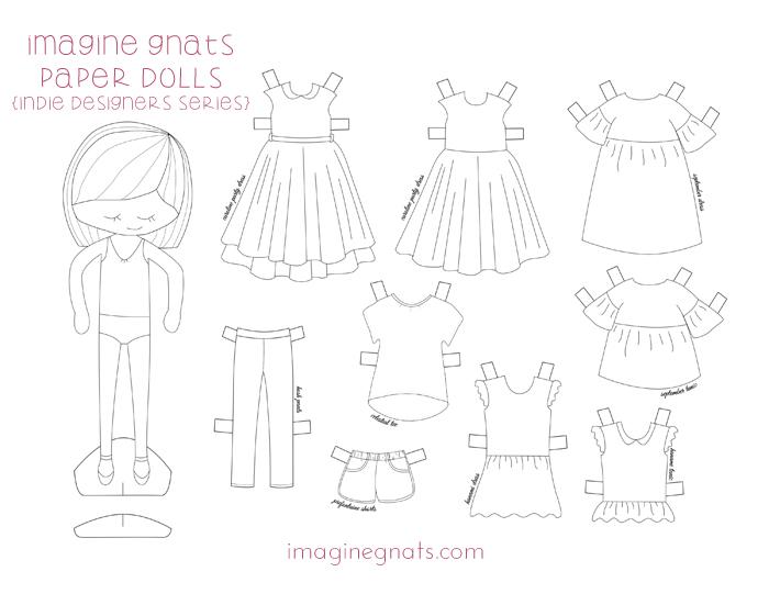 700x541 Free Printable {Indie Designers} Paper Dolls
