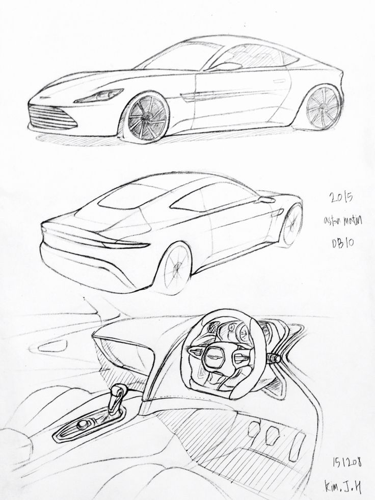 Drawing Pictures Of Cars