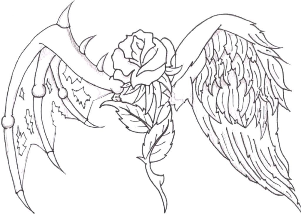 Drawing pictures of crosses at free for for Coloring pages of crosses and roses