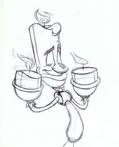 396x489 Photos Disney Character Sketches,