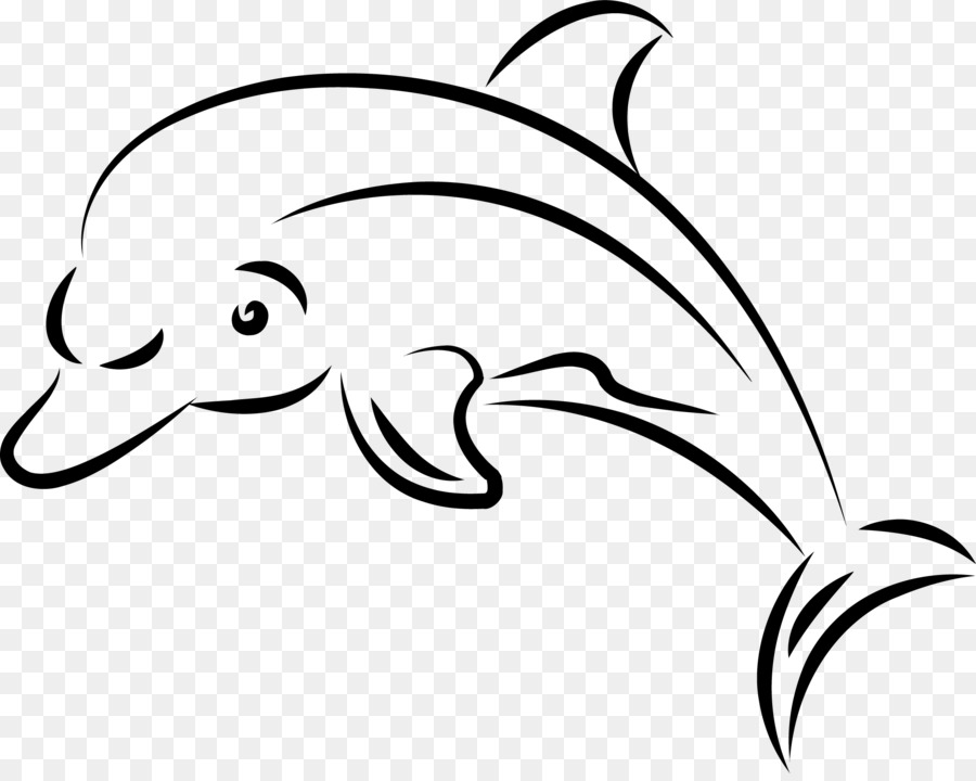 It is an image of Candid Dolphin Heart Drawing