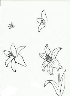 233x320 How to Draw a Lily Step by Step Drawing Tutorials with Pictures