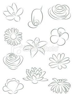 236x314 cool and easy flowers to draw cool simple flower designs to draw