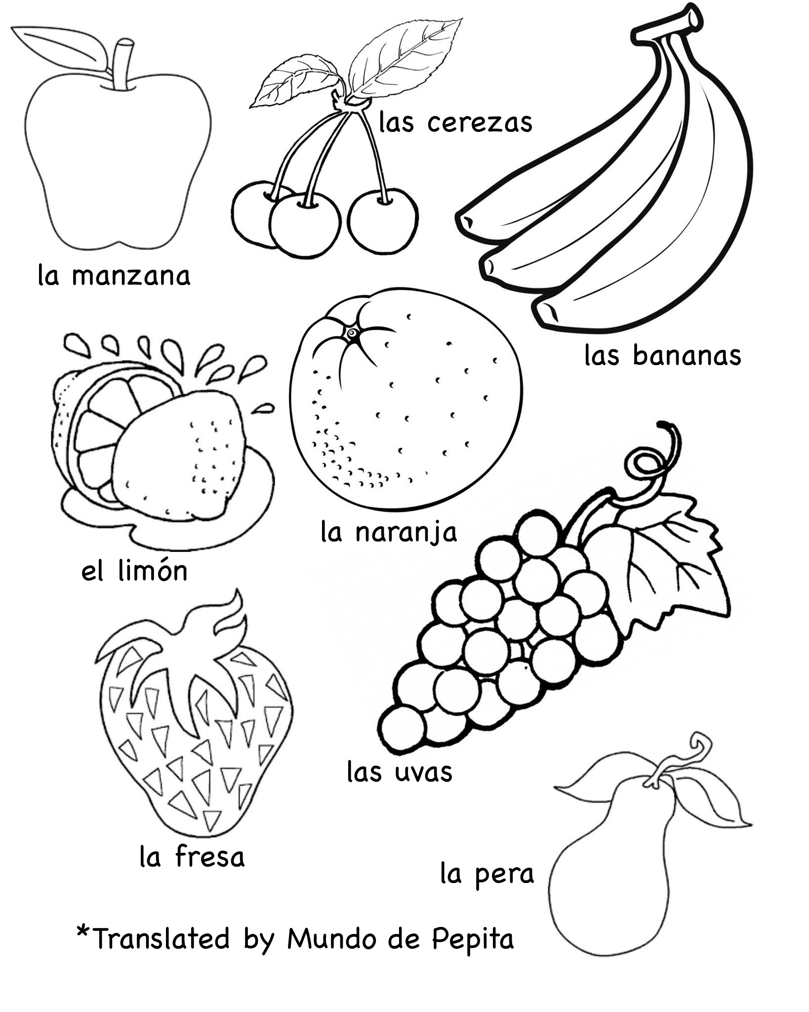 1638x2048 Drawing Fruits And Vegetables Worksheets Multilingual Printables