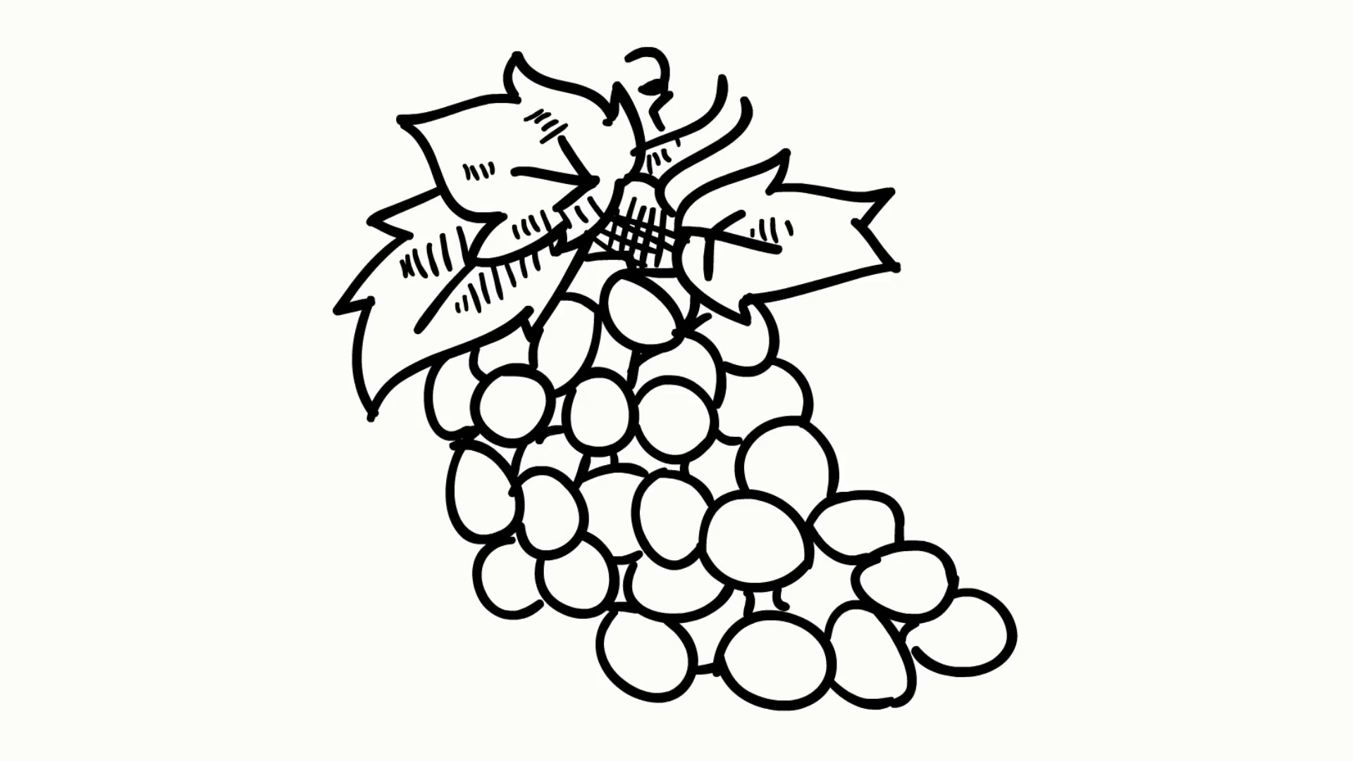1920x1080 Tomato Fruit Vegetable Food Line Drawing Illustration Animation