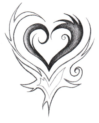 Drawing Pictures Of Hearts at GetDrawings com | Free for