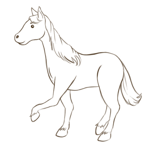 500x500 How To Draw Horses Equine Blog Ireland