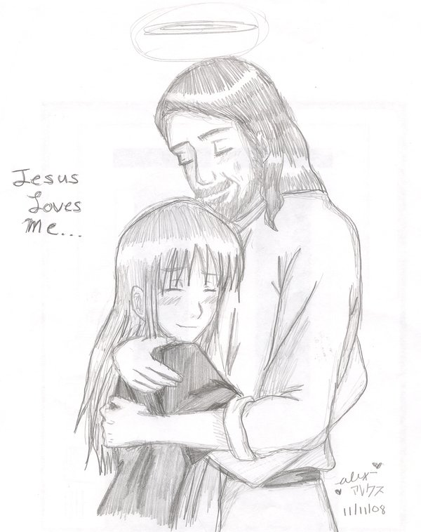 Drawing Pictures Of Jesus at GetDrawings.com | Free for personal use ...