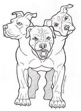 Drawing Pictures Of Pitbulls