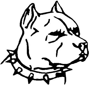 378x363 How To Draw A Pitbull Dog Face, How To Get Rid Of My Dog'S