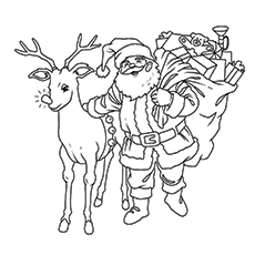 Drawing Pictures Of Santa Claus