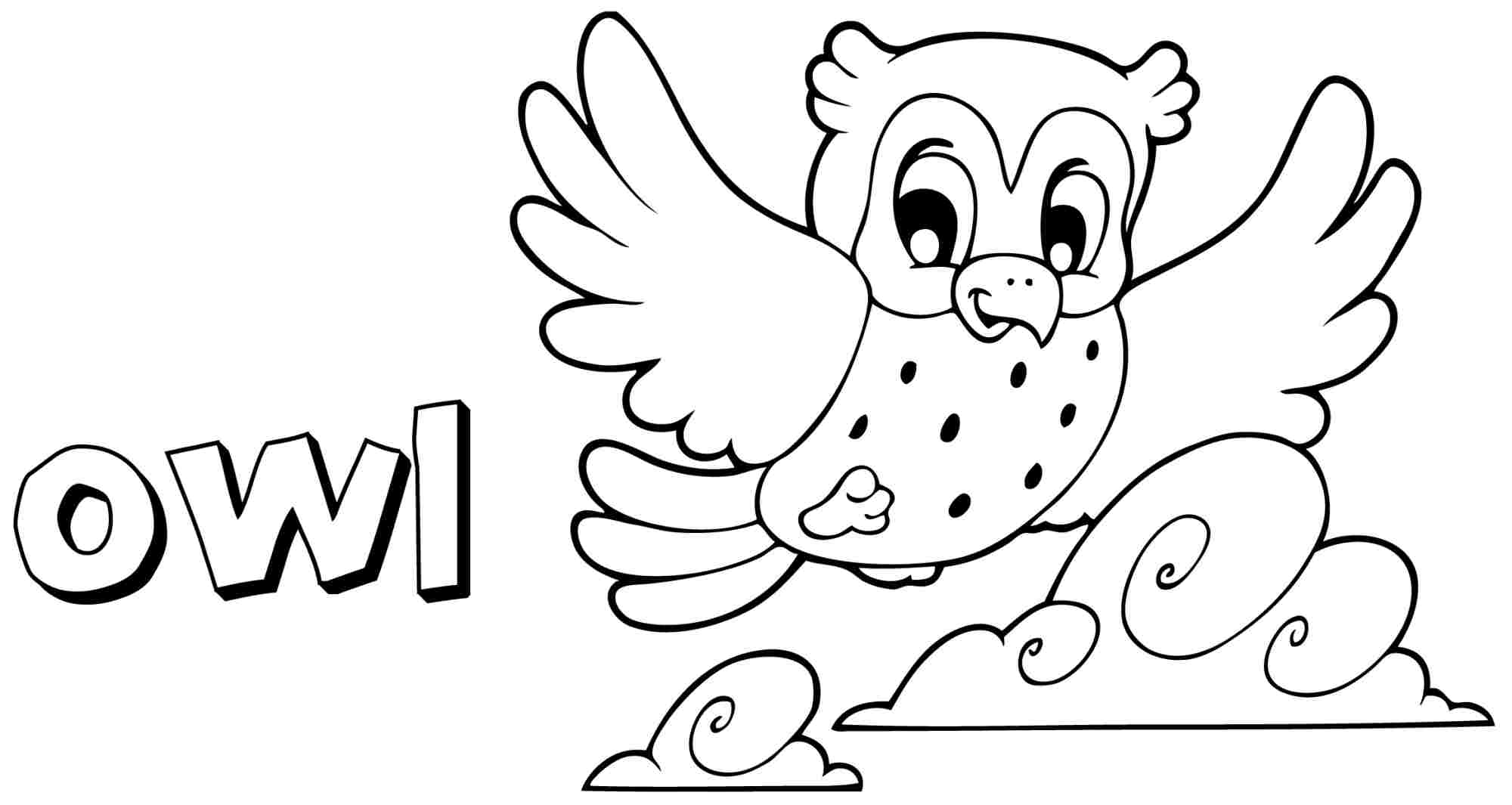 2000x1065 Free Owl Coloring Pages With Printable General Snowy For Adults