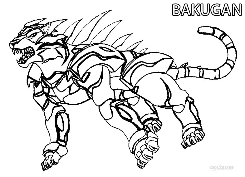 850x614 Printable Bakugan Coloring Pages For Kids Cool2bkids