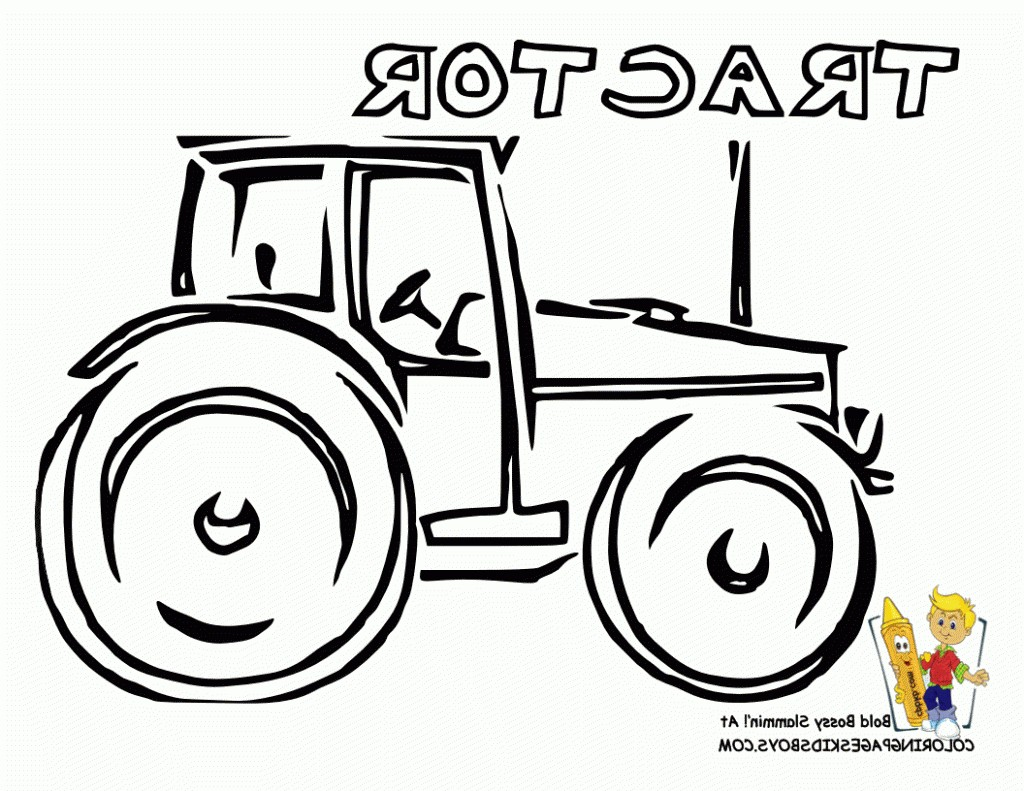 1024x791 Simple Tractor Coloring Pages Fresh Simple Tractor Drawing Big