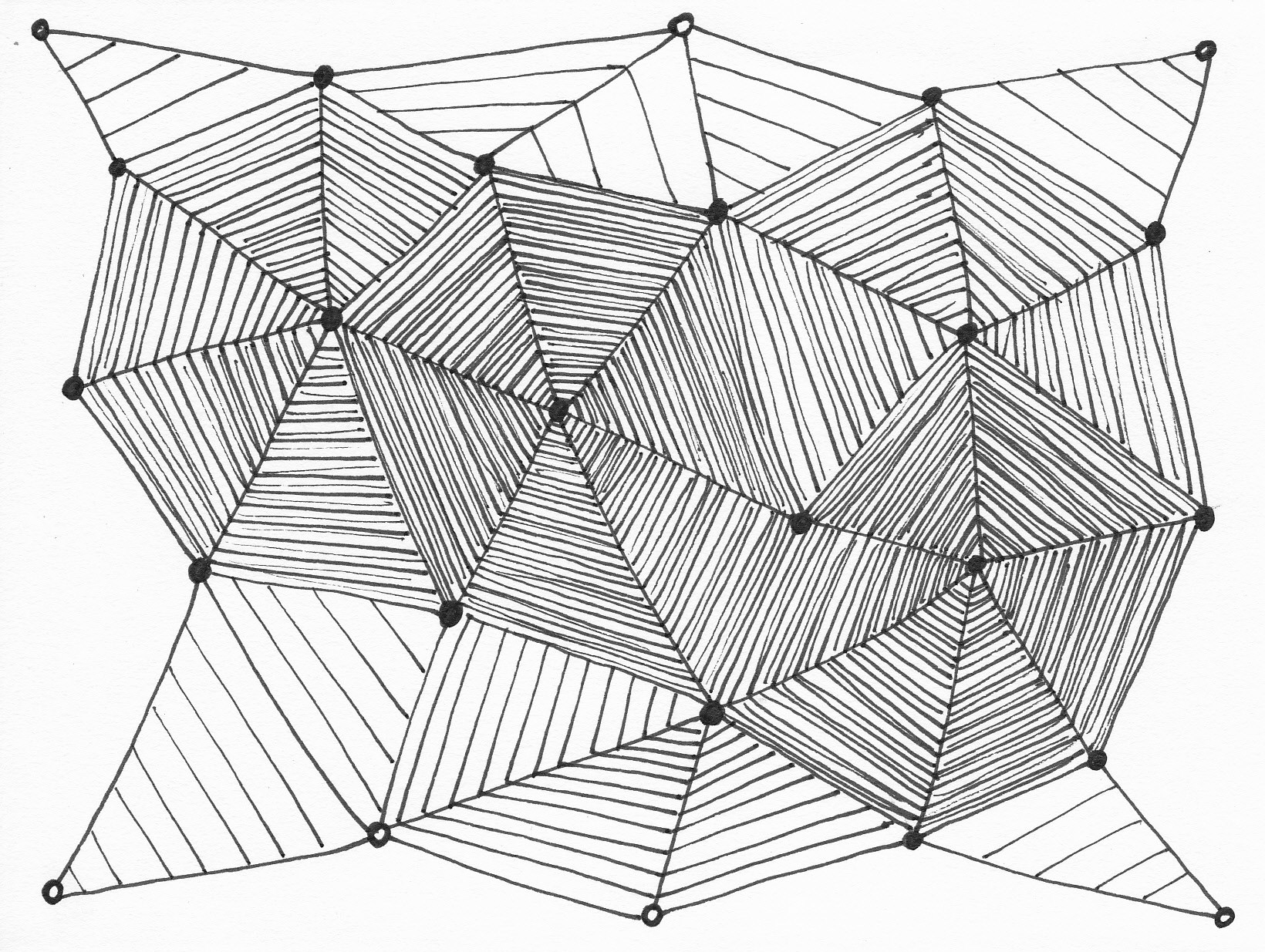 Drawing Lines With Triangle Combination : Drawing with triangles at getdrawings free for