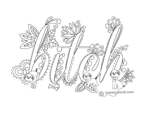 500x386 Great Coloring Pages With Words New