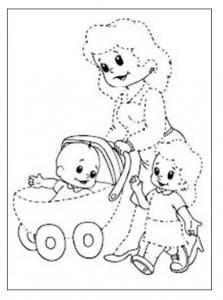 223x300 Free Printable Trace Line Worksheet For Kids