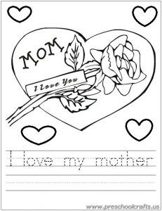 231x300 23 Best Free Printable Mother's Day Worksheets For Kids Images