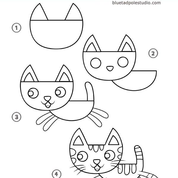 600x600 Fun Easy Drawings For Kids Coloring Page Ideas