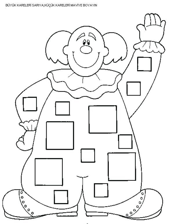 600x772 Coloring Shapes Worksheets Kindergarten Color The Shapes Worksheet