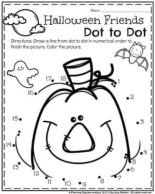 320x400 Preschool Halloween Worksheets