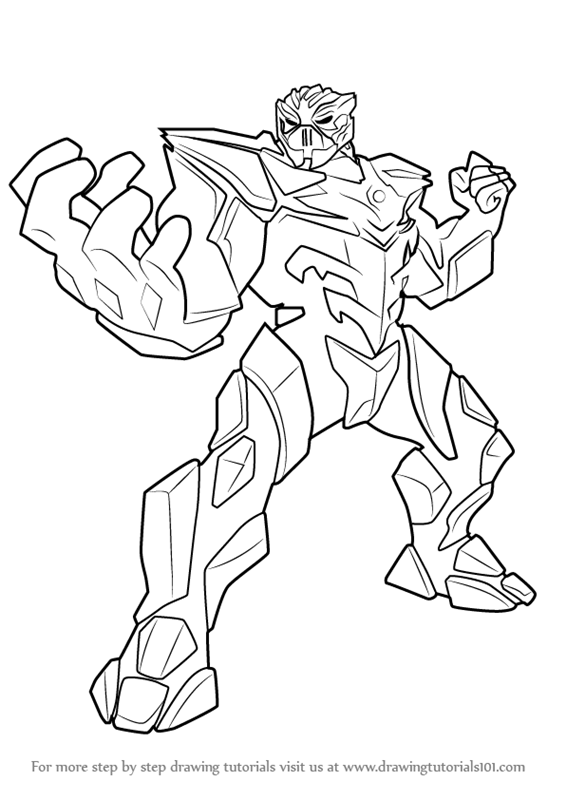 566x800 Learn How To Draw Miles Dread From Max Steel (Max Steel) Step By