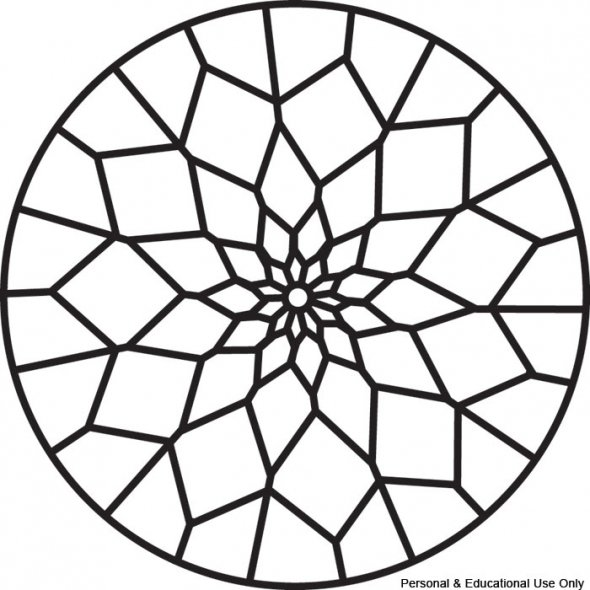 590x590 Easy Mandala Coloring Pages Dreamcatcher Kids Page