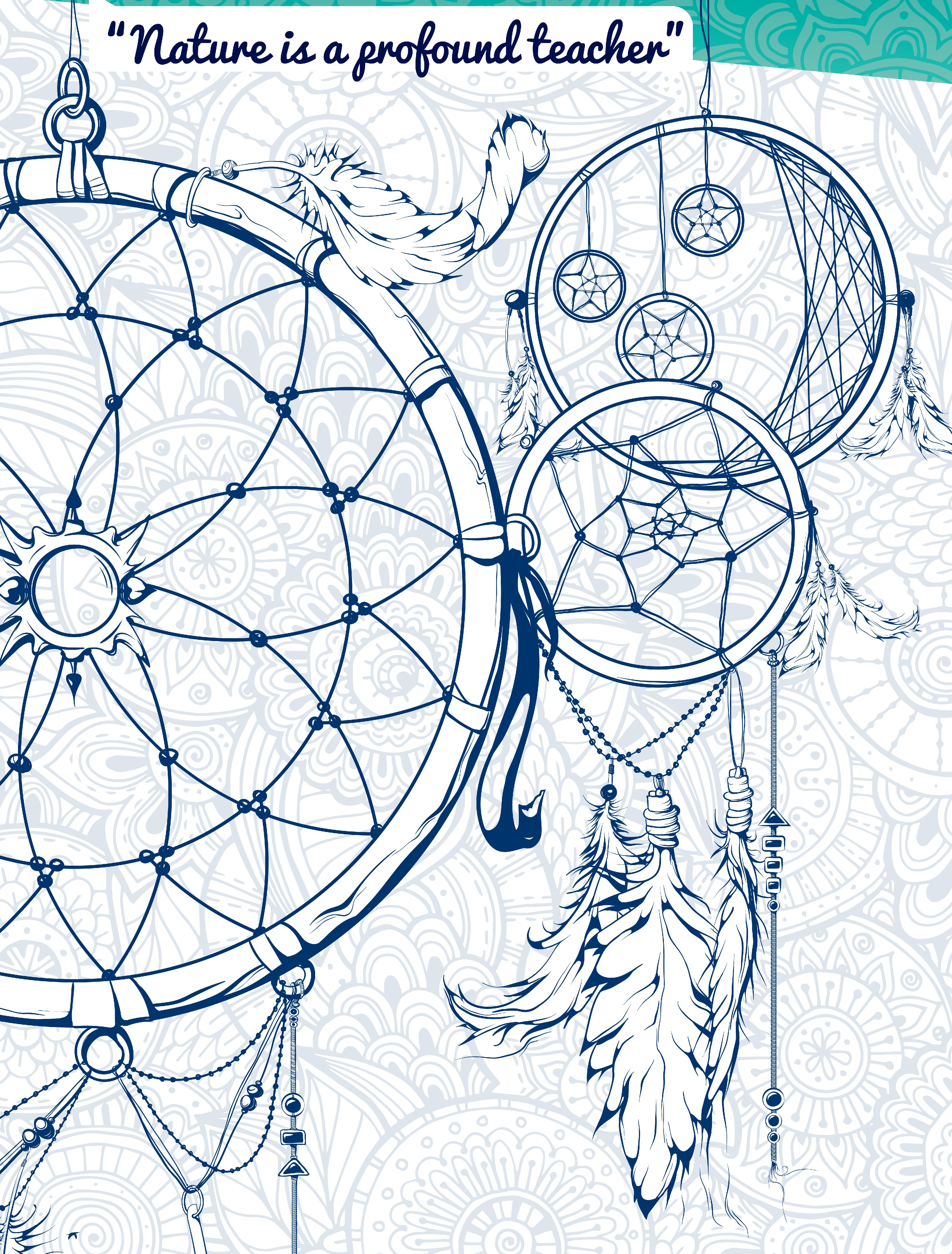 3281x4321 Step By Step Dreamcatcher Drawing