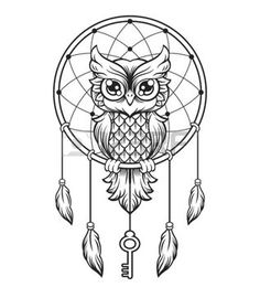 236x260 Moon Dream Catcher Feathers Vinyl Decal Dreamcatcher Mandala Decal