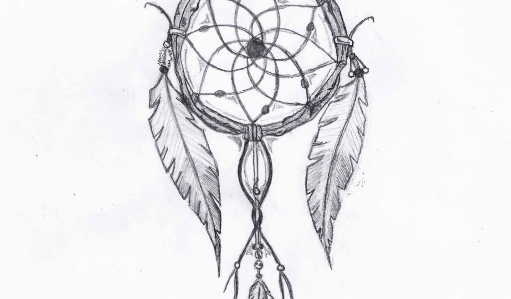 1024x600 Native American Dreamcatcher Tattoos Native American Dream Catcher