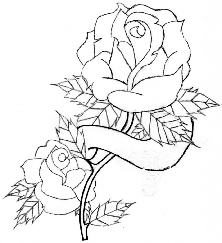 937x1024 Rose Drawing Designs 1000 Images About Tattoos On Dream