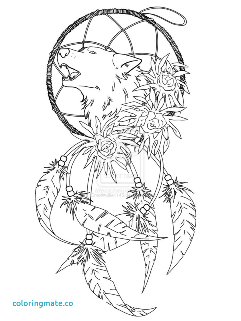 774x1032 Dreamcatcher Coloring Pages New Dream Catcher Coloring Pages